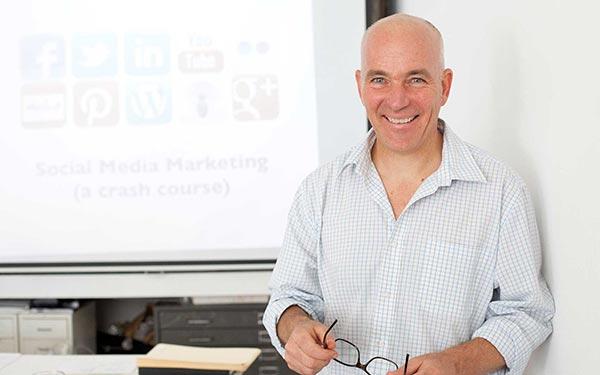 Social media training Phil Stubbs photo